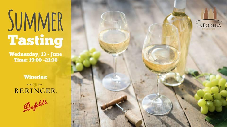 Summer Wine Tasting